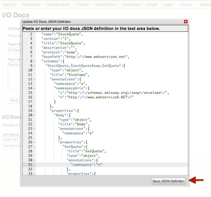 TIBCO Mashery API : New Features in I/O Docs